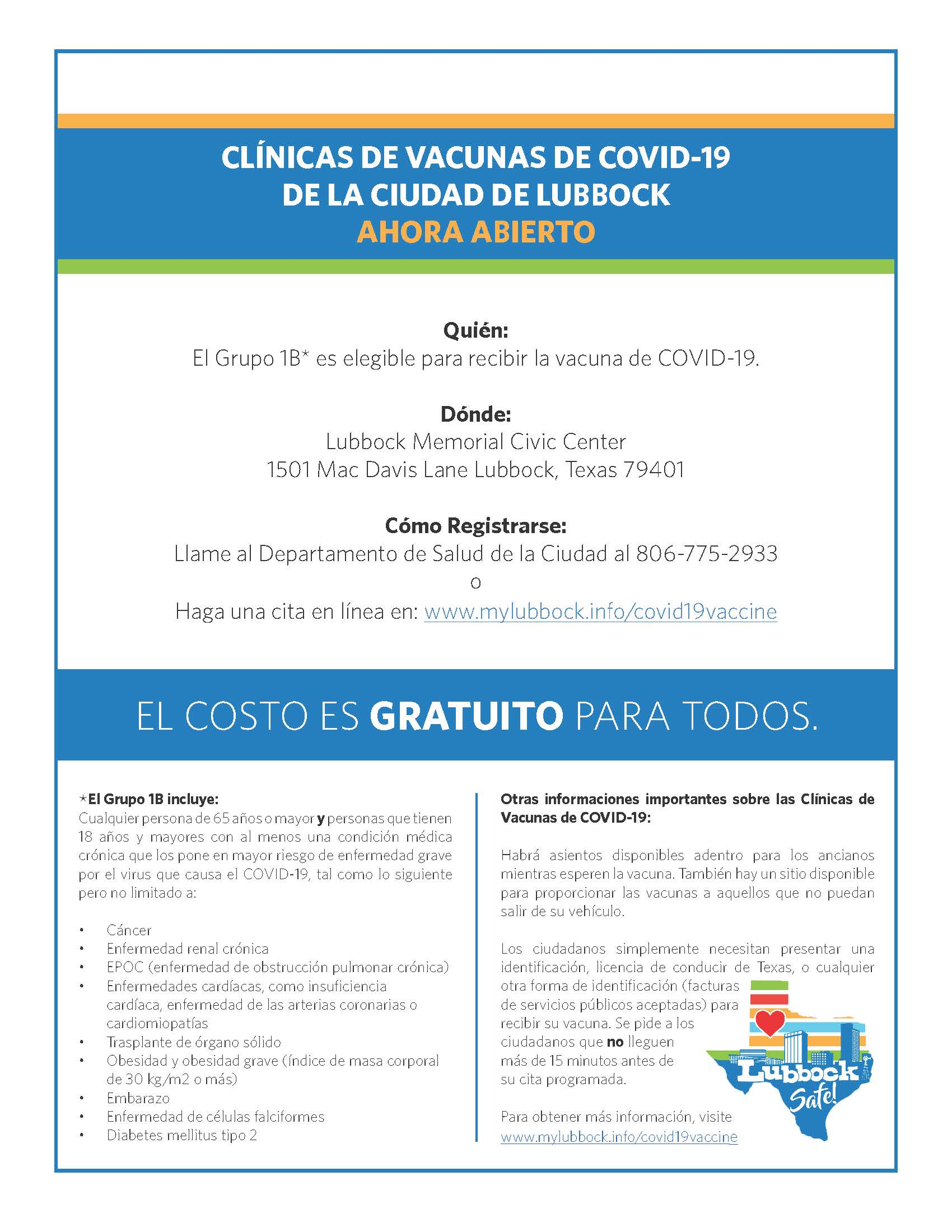 covid vaccine information in spanish